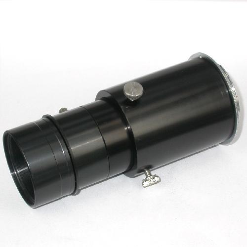Telextender variabile ibrido per foto a proiezione oculare e fuoco diretto Ø 2``