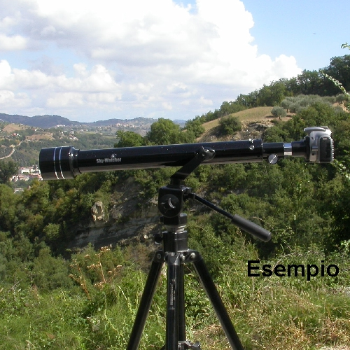 Obiettivo telescopio 700mm F11,6 disponibile per Nikon Canon Sony Pentax  C ecc.