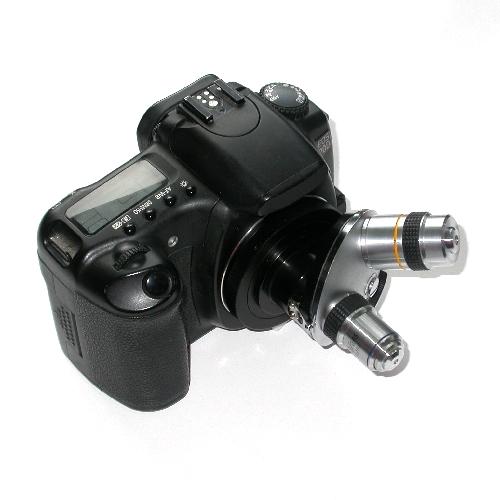 Adattatore revolver x foto ottiche microscopio RMS PHOTAR LUMINAR FOR CANON EOS