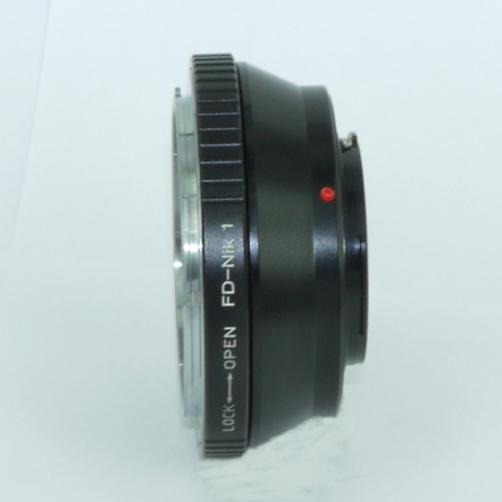 NIKON N1 (V1, J1, ...) anello raccordo a obiettivo Canon FD