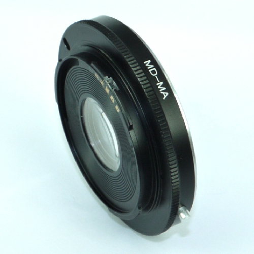 Sony Minolta AF anello adattatore con microchip a obiettivo Minolta MD - MC