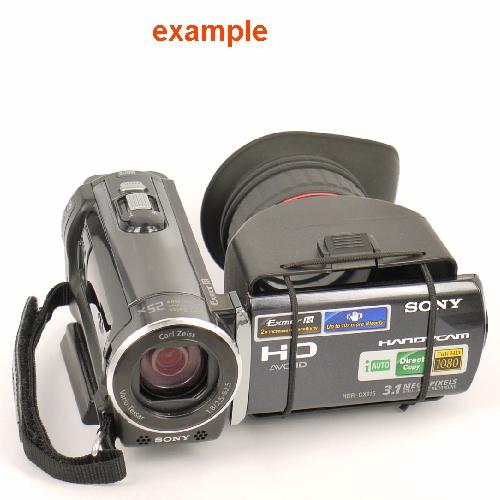 MIRINO ottico 3.0X universale per schermo LCD di videocamere