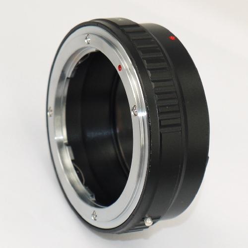 Canon EOS M a obiettivo KONICA manual focus