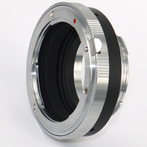 Leica M Voigtlander Bessa Raccordo a obiettivo Nikon adapter lens 6 Bit LTM