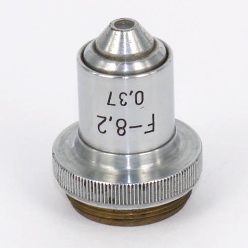 Obiettivo cccp per microscopio F-8,2  0,37