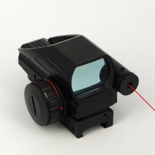 Cannocchiale mirino 1X33 RED GREEN DOT PRO olografico fucile con puntatore laser