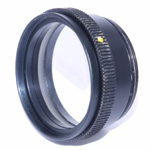 Ricostruzione lente microscopio doppietto negativo Moller  Ø 54,8 x 1