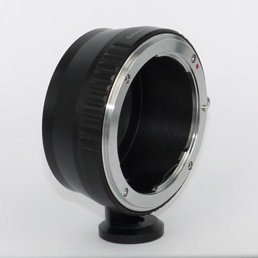 micro 4/3  anello raccordo a obiettivo Nikon con attacco per cavalletto