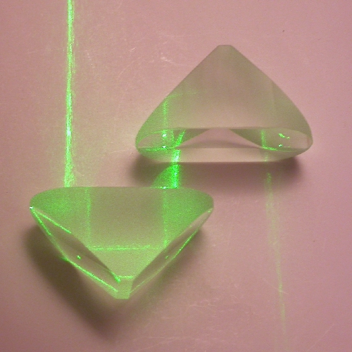 PRISMA OTTICO di Porro in vetro BK7