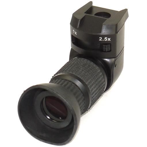 MIRINO ANGOLARE 1X - 2,5 X universale Canon Nikon Pentax Sony Leica ...