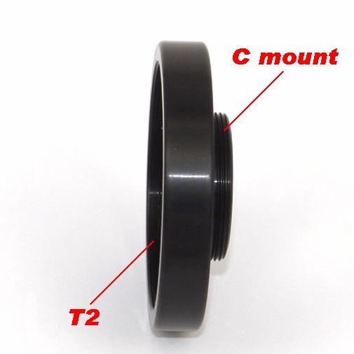 2 Obbiettivi C Mount per ripresa MACRO con filtro polarizzatore