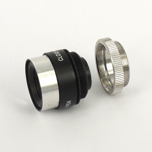 Obiettivo macro C/CS mount su commissione: focale 30mm con diaframma