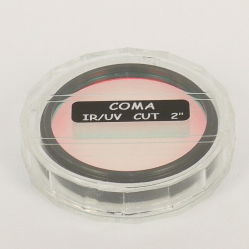 FILTRO dielettrico IR-UV CUT COMA Rejection filter  Ø 48 ( 2 `` )