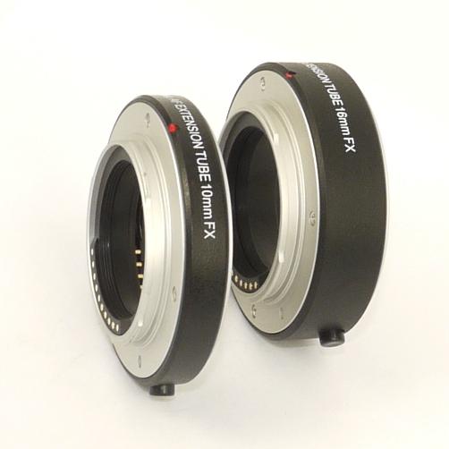 Fujifilm FX Set due tubi prolunga per foto MACRO  con trasmissione elettrica