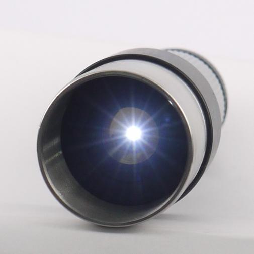 Lampada a foro stenopeico 0.5mm per test ottici