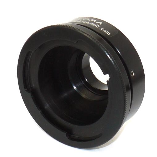 Anello raccordo telecamere, videocamere passo C per obiettivo video 2/3 `` - B4
