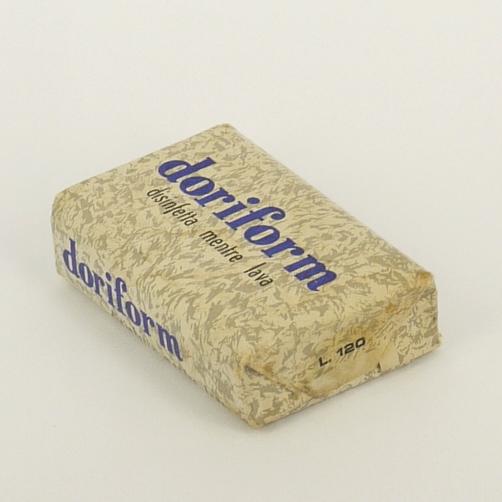 Antica Saponetta disinfettante anni 60 doriform