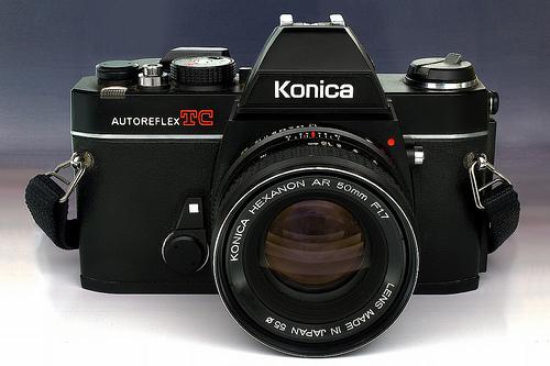 Libretto istruzioni  per fotocamera KONICA AUTOREFLEX TC