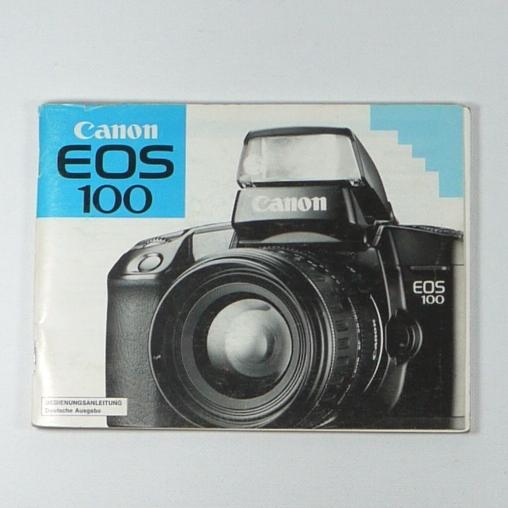 Libretto istruzioni  per fotocamera Canon EOS 100