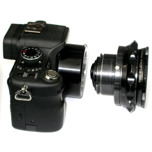 Micro 4/3 Olympus Lumix Panasonic anello raccordo a obiettivo CAMAFLEX adapter