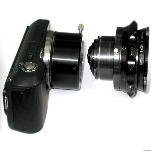 SONY NEX  ( E mount ) anello raccordo a obiettivo CAMAFLEX adapter