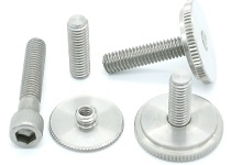 3/8 '' WHITWORTH SCREWS AND KNOBS