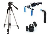 TRIPODS SUPPORTS AND HEADS