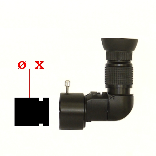 Deviatore 90° per puntatore polare Angle Finder for Polar Alignment Viewfinder