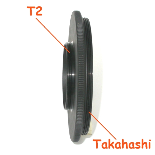 Raccordo filetto T2 per  fotografia su Telescopio Takahashi Ø72mm