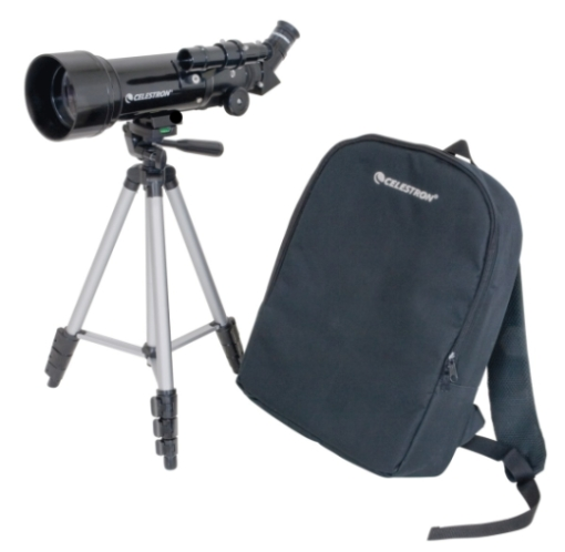 Telescopio portatile CELESTRON Travel Scope 70 con treppiede e zaino  CC21035-DS