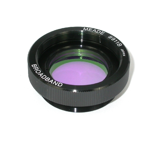 Filtro Nebulare MEADE Broadband x telescopi uscita filetto S/C 2'' pollici