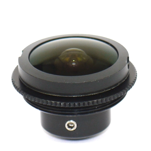 Obiettivo super wide angle FISH-EYE  F1.8 mm C Mount Lens