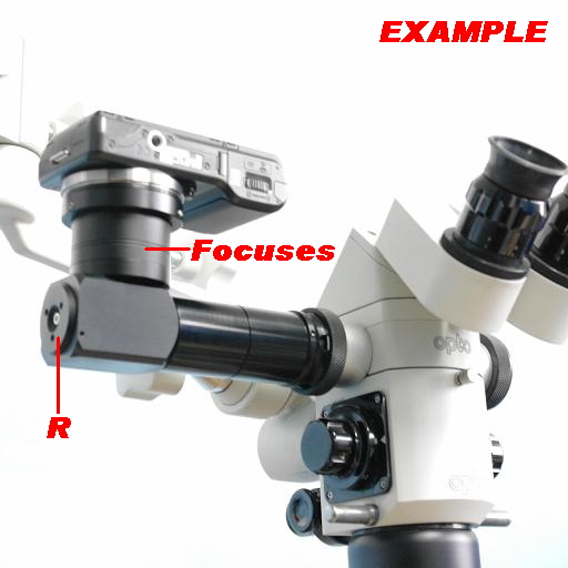FOTO VIDEO CAMERA ADAPTER NEW-TV TUBE for Mirrorless Surgical Microscope LABOMED